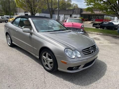 2004 Mercedes-Benz CLK 500 for sale at Black Tie Classics in Stratford NJ
