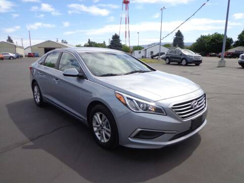 2017 Hyundai Sonata for sale at New Deal Used Cars in Spokane Valley WA