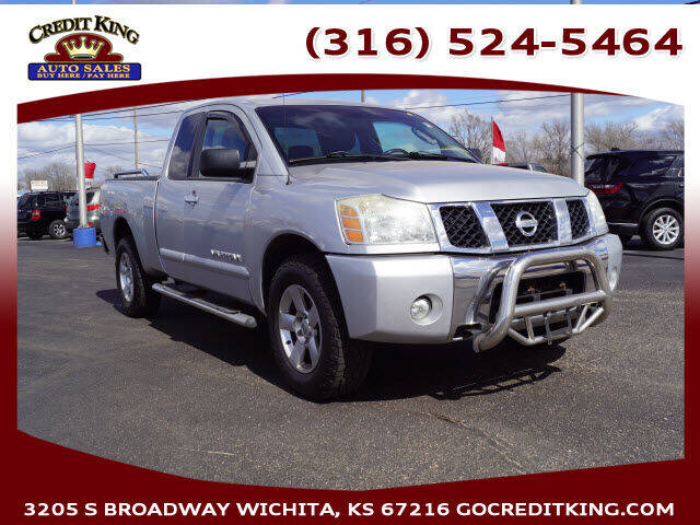 2007 Nissan Titan for sale at Credit King Auto Sales in Wichita KS