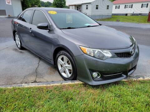 2014 Toyota Camry for sale at Moores Auto Sales in Greeneville TN