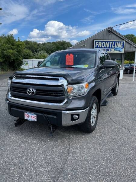 2014 Toyota Tundra for sale at Frontline Motors Inc in Chicopee MA