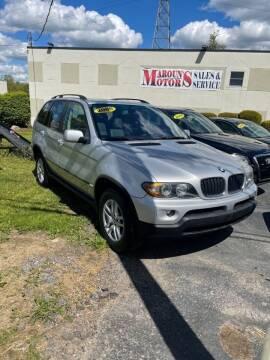 2005 BMW X5 for sale at Maroun's Motors, Inc in Boardman OH