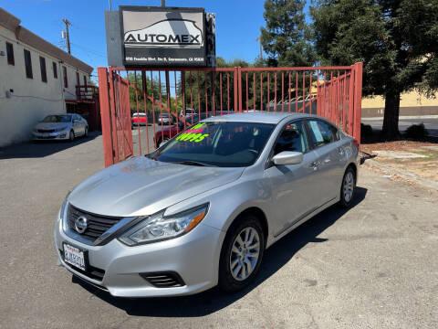 2016 Nissan Altima for sale at AUTOMEX in Sacramento CA