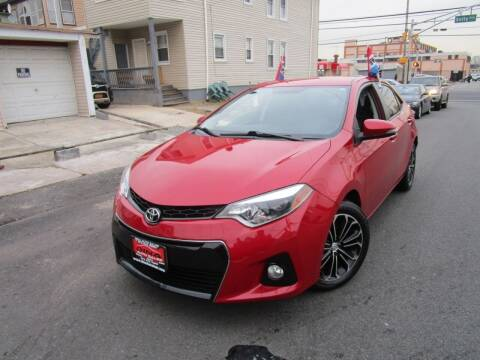 2015 Toyota Corolla for sale at Dina Auto Sales in Paterson NJ