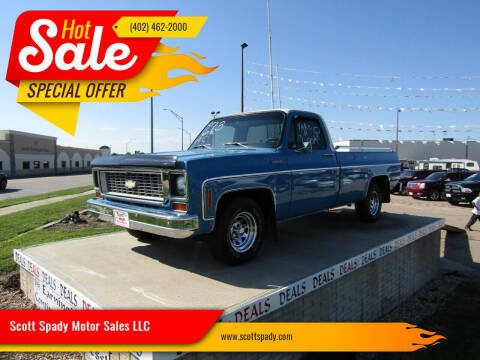 1973 Chevrolet C/K 10 Series for sale at Scott Spady Motor Sales LLC in Hastings NE