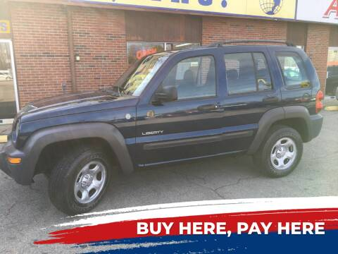 2004 Jeep Liberty for sale at Atlas Cars Inc. - Radcliff Lot in Radcliff KY