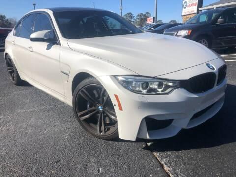 2017 BMW M3 for sale at Glamorous Motors in Woodstock GA