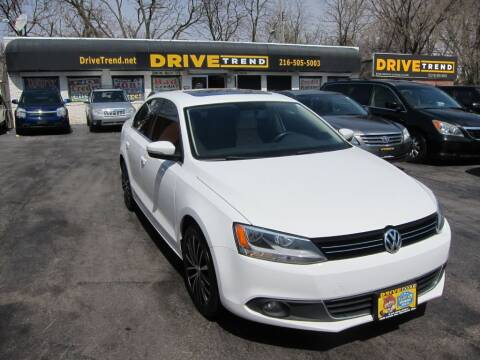 2012 Volkswagen Jetta for sale at DRIVE TREND in Cleveland OH