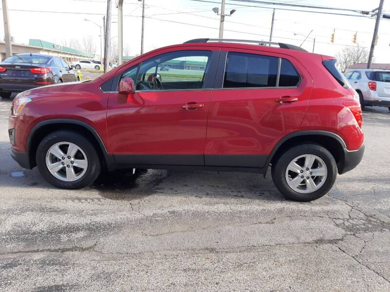 2015 Chevrolet Trax AWD LT 4dr Crossover - Wauseon OH