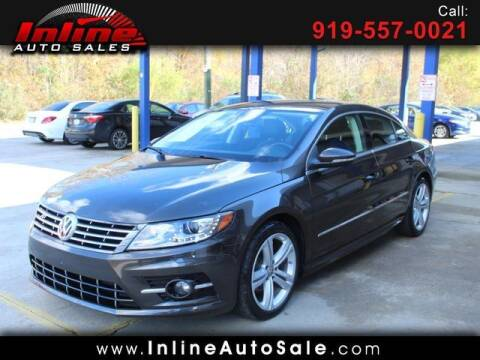 2016 Volkswagen CC for sale at Inline Auto Sales in Fuquay Varina NC