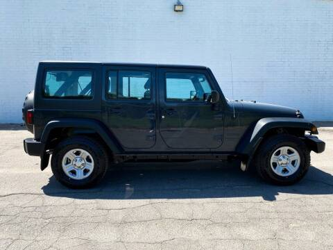 2016 Jeep Wrangler Unlimited for sale at Smart Chevrolet in Madison NC