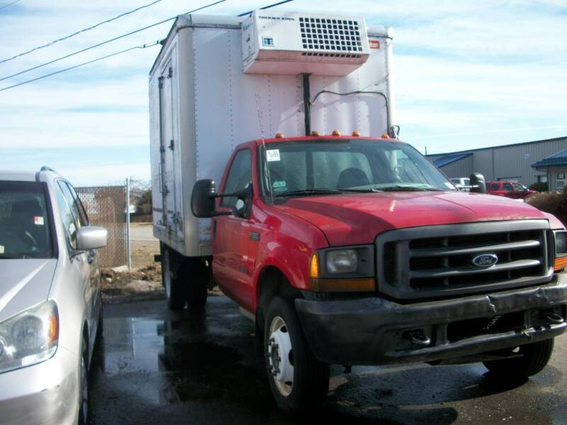 2000 Ford F-550 Super Duty for sale at Lloyds Auto Sales & SVC in Sanford ME