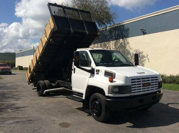 2003 GMC TOPKICK for sale at Tropical Motors Cargo Vans and Car Sales Inc. in Pompano Beach FL