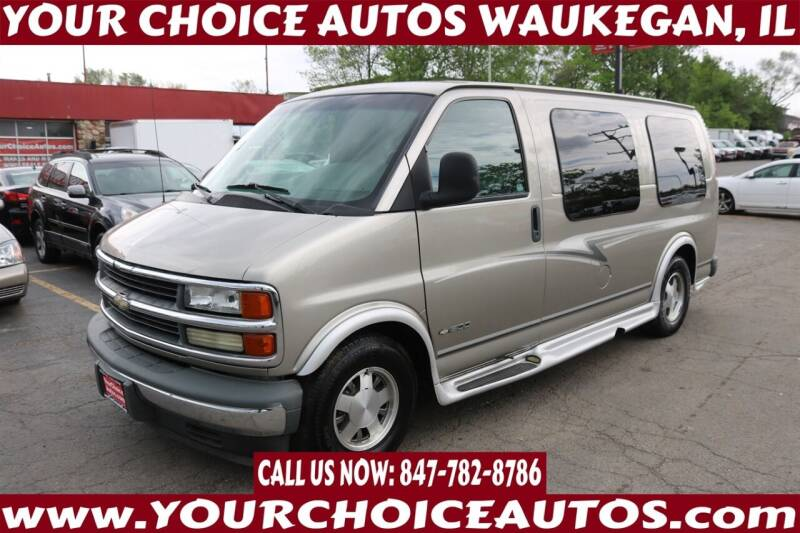 2002 Chevrolet Express Cargo for sale at Your Choice Autos - Waukegan in Waukegan IL