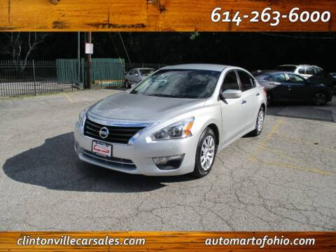 2013 Nissan Altima for sale at Clintonville Car Sales - AutoMart of Ohio in Columbus OH