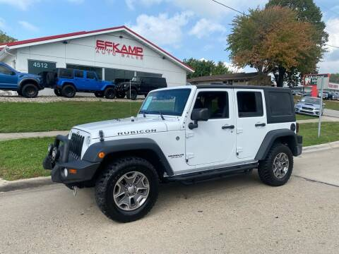 2015 Jeep Wrangler Unlimited for sale at Efkamp Auto Sales LLC in Des Moines IA