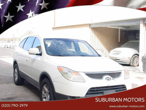 2007 Hyundai Veracruz for sale at Suburban Motors in Tucson AZ