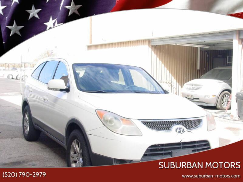 2007 Hyundai Veracruz for sale at Suburban Motors in Tucson AZ