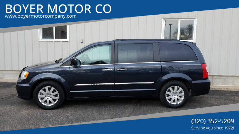 2014 Chrysler Town and Country for sale at BOYER MOTOR CO in Sauk Centre MN