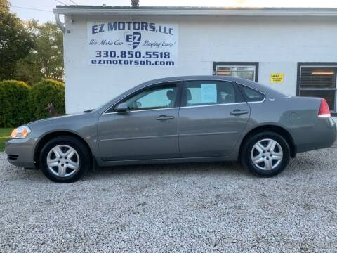 2008 Chevrolet Impala for sale at EZ Motors in Deerfield OH