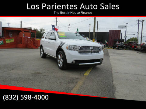2013 Dodge Durango for sale at Los Parientes Auto Sales in Houston TX