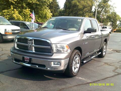 2010 Dodge Ram Pickup 1500 for sale at Stoltz Motors in Troy OH