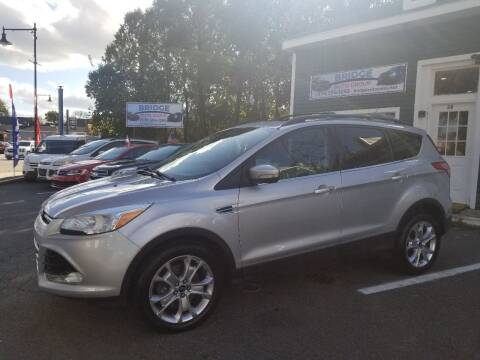 2013 Ford Escape for sale at Bridge Auto Group Corp in Salem MA