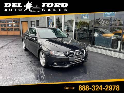 2009 Audi A4 for sale at DEL TORO AUTO SALES in Auburn WA