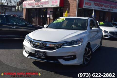 2017 Honda Accord for sale at www.onlycarsnj.net in Irvington NJ
