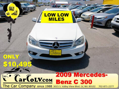 2009 Mercedes-Benz C-Class for sale at The Car Company in Las Vegas NV