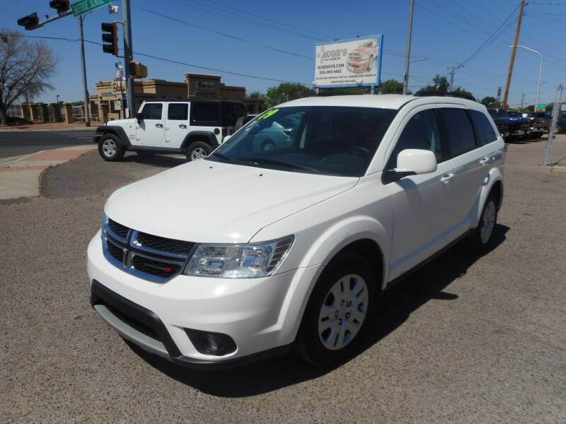 2019 Dodge Journey for sale at AUGE'S SALES AND SERVICE in Belen NM