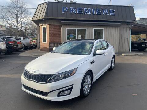 2015 Kia Optima for sale at Premiere Auto Sales in Washington PA