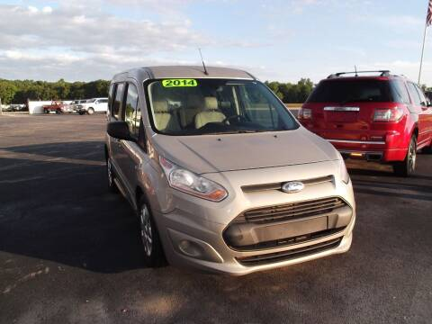 2014 Ford Transit Connect Wagon for sale at Dietsch Sales & Svc Inc in Edgerton OH