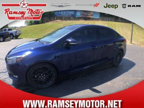 2016 Ford Focus for sale at RAMSEY MOTOR CO in Harrison AR