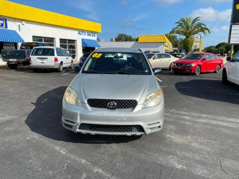 2003 Toyota Matrix for sale at DUNEDIN AUTO SALES INC in Dunedin FL