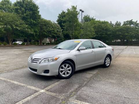 2011 Toyota Camry for sale at Uniworld Auto Sales LLC. in Greensboro NC
