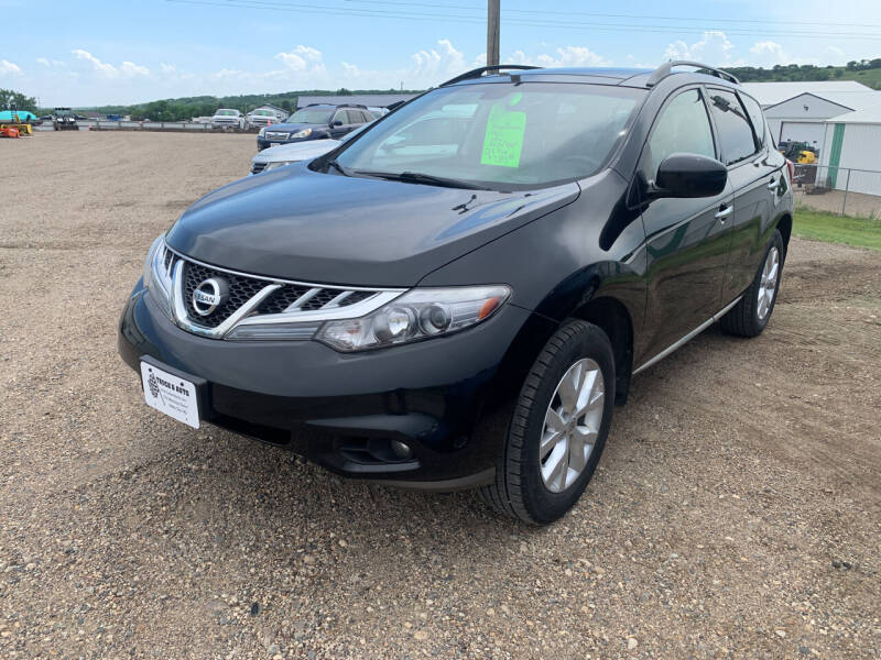 2011 Nissan Murano for sale at TRUCK & AUTO SALVAGE in Valley City ND