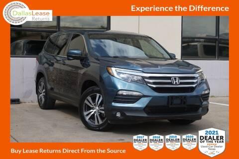 2018 Honda Pilot for sale at Dallas Auto Finance in Dallas TX