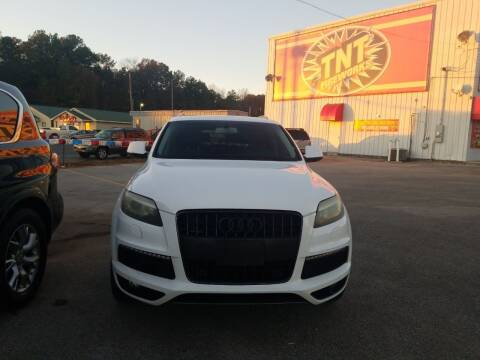 2011 Audi Q7 for sale at AUTOPLEX 528 LLC in Huntsville AL