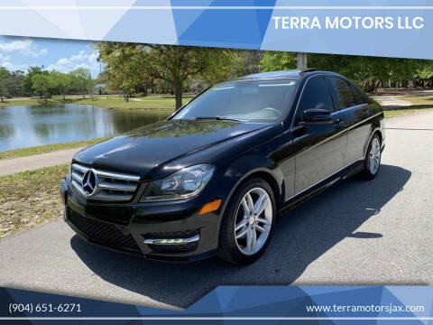 2013 Mercedes-Benz C-Class for sale at Terra Motors LLC in Jacksonville FL