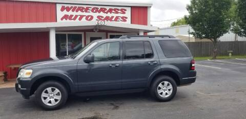 2010 Ford Explorer for sale at WIREGRASS AUTO SALES in Dothan AL