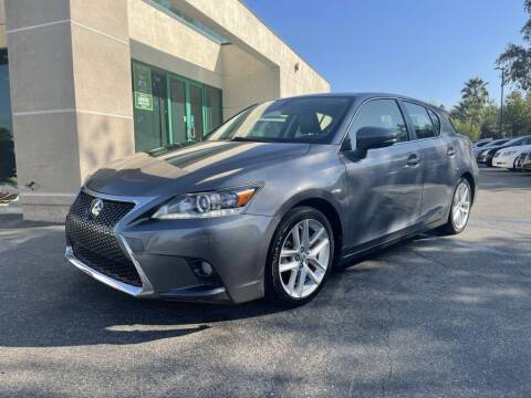 2016 Lexus CT 200h for sale at AutoHaus in Colton CA