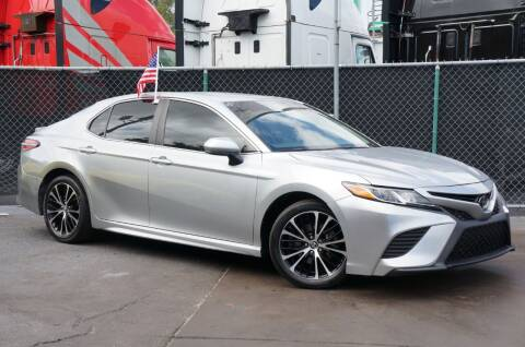 2018 Toyota Camry for sale at MATRIX AUTO SALES INC in Miami FL