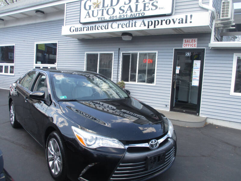 2015 Toyota Camry for sale at Gold Star Auto Sales in Johnston RI