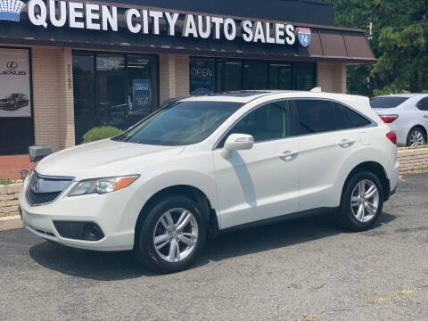 2013 Acura RDX for sale at Queen City Auto Sales in Charlotte NC