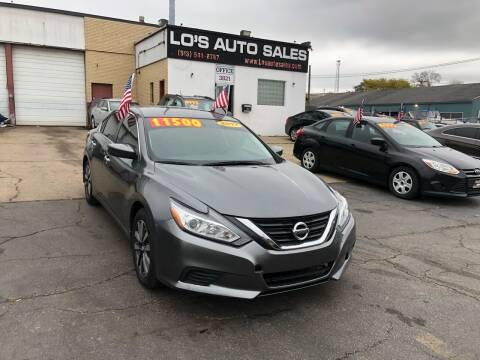2017 Nissan Altima for sale at Lo's Auto Sales in Cincinnati OH