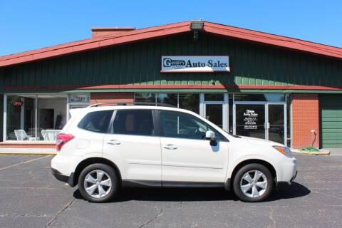 2015 Subaru Forester for sale at Gentry Auto Sales in Portage MI