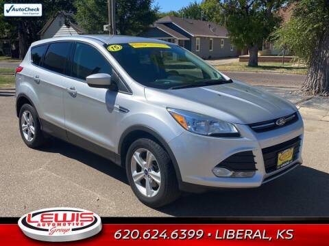 2015 Ford Escape for sale at Lewis Chevrolet Buick of Liberal in Liberal KS