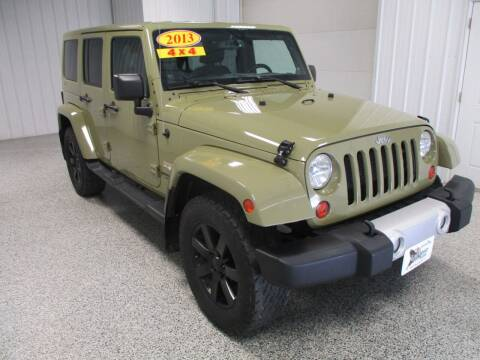 2013 Jeep Wrangler Unlimited for sale at LaFleur Auto Sales in North Sioux City SD