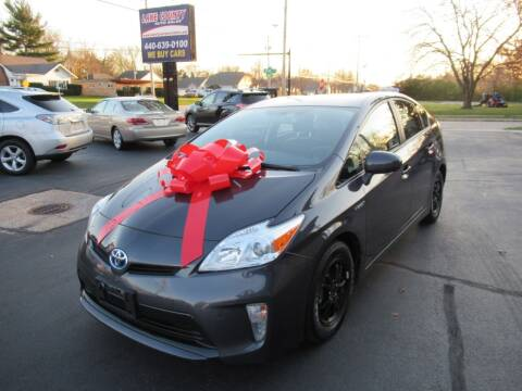 2014 Toyota Prius for sale at Lake County Auto Sales in Painesville OH